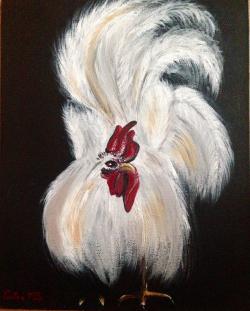 Picturi cu animale Cocos exuberant