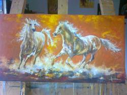 Picturi cu animale INTALNIRE