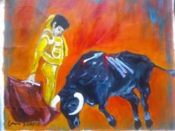 Picturi cu animale toreador-cod 152