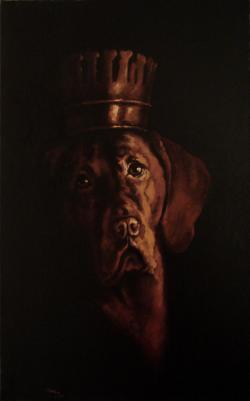 Picturi cu animale The King1