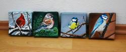 Picturi cu animale 4 tablouri