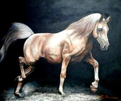 Picturi cu animale Oil painting horse 1