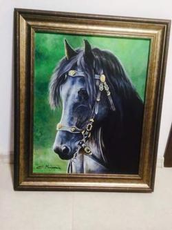 Picturi cu animale Tablou Black beauty 2