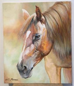 Picturi cu animale tablou cu cal frumos
