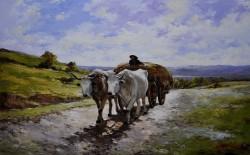Picturi cu animale Printre dealuri si valcele