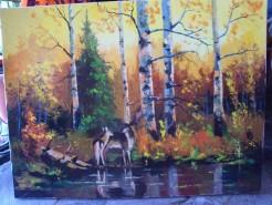 Picturi cu animale La adapat