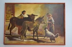 Picturi cu animale Magarusi