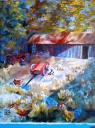 Picturi cu animale Farmyard