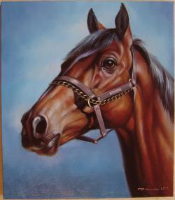 Picturi cu animale Bruna