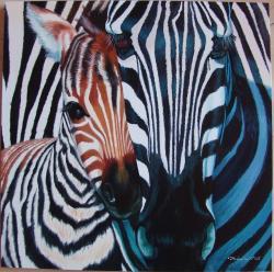 Picturi cu animale Caldura Materna