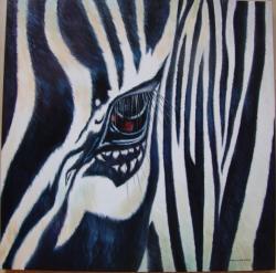 Picturi cu animale Zebriform