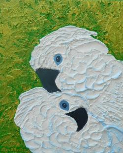 Picturi cu animale Imbratisare