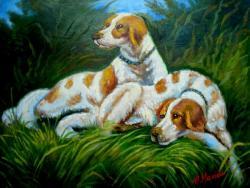 Picturi cu animale La vanatoare 2