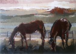 Picturi cu animale 2cai