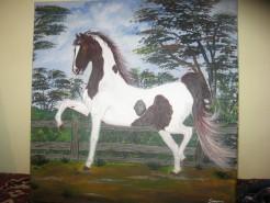 Picturi cu animale Mandru