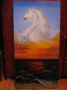 Picturi cu animale Vraja marii