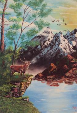 Picturi cu animale Chemarea