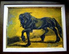 Picturi cu animale Alura friesian