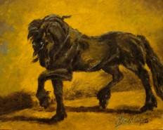 Picturi cu animale Frizian