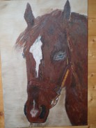 Picturi cu animale Brown