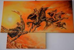 Picturi cu animale Lupta pentru supravietuire