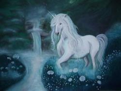 Picturi cu animale Vis Alb