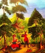 Picturi cu animale La vanatoare