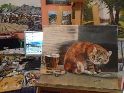 Picturi cu animale Pisica