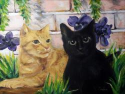 Picturi cu animale Cats