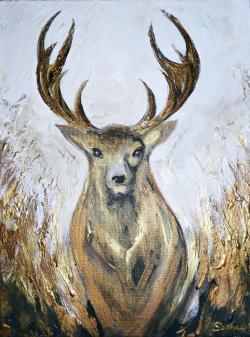 Picturi cu animale Wise Deer