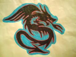 Picturi cu animale Dragon