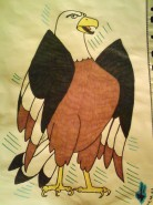 Picturi cu animale Vultur