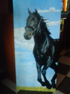 Picturi cu animale Cal salbatic 3