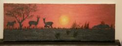Picturi cu animale Savana