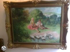 Picturi cu animale Cu gistele la apa