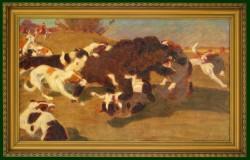 Picturi cu animale La vinatoare