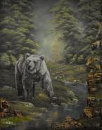 Picturi cu animale Mos martin