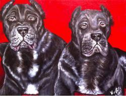 Picturi cu animale Guardians