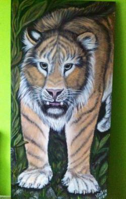 Picturi cu animale Tiger