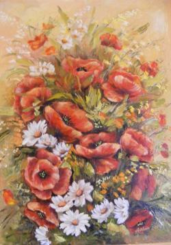 Picturi cu flori maci pentru tine iubito
