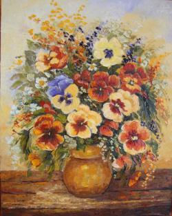 Picturi cu flori primeste primavara