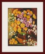 Picturi cu flori Yellow flowers