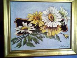 Picturi cu flori crizanteme 15