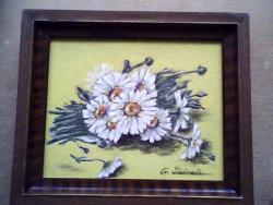Picturi cu flori margarete 54