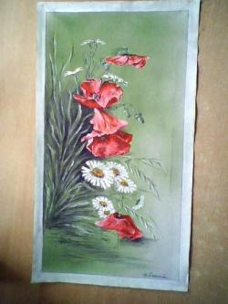 Picturi cu flori flori de camp 54