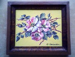Picturi cu flori flori de maces 54