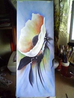 Picturi cu flori modern1