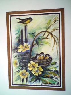 Picturi cu flori primavara vesela