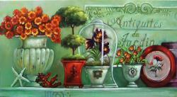 Picturi cu flori antiquites du jardin