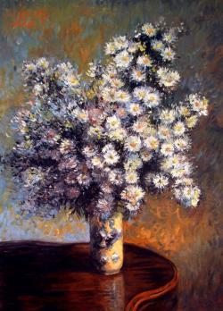 Picturi cu flori f. albe